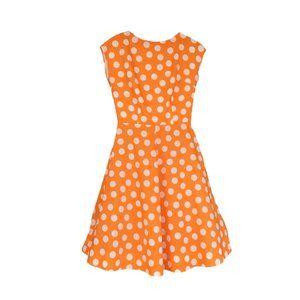 Mod Retro Polka Dot Dress
